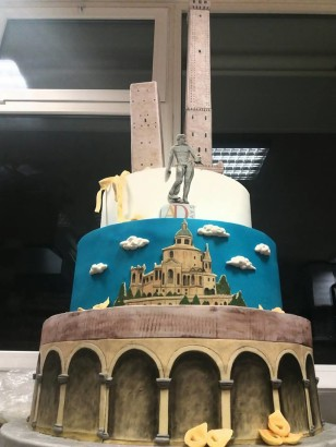 Torta per Association Days 2018 Bologna - Pasticceria Beverara